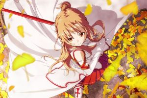 yuuki asuna anime girls anime sword art online
