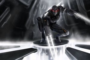zed video games video game warriors red eyes artwork pc gaming league of legends glowing eyes
