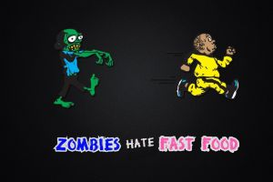 zombies humor minimalism