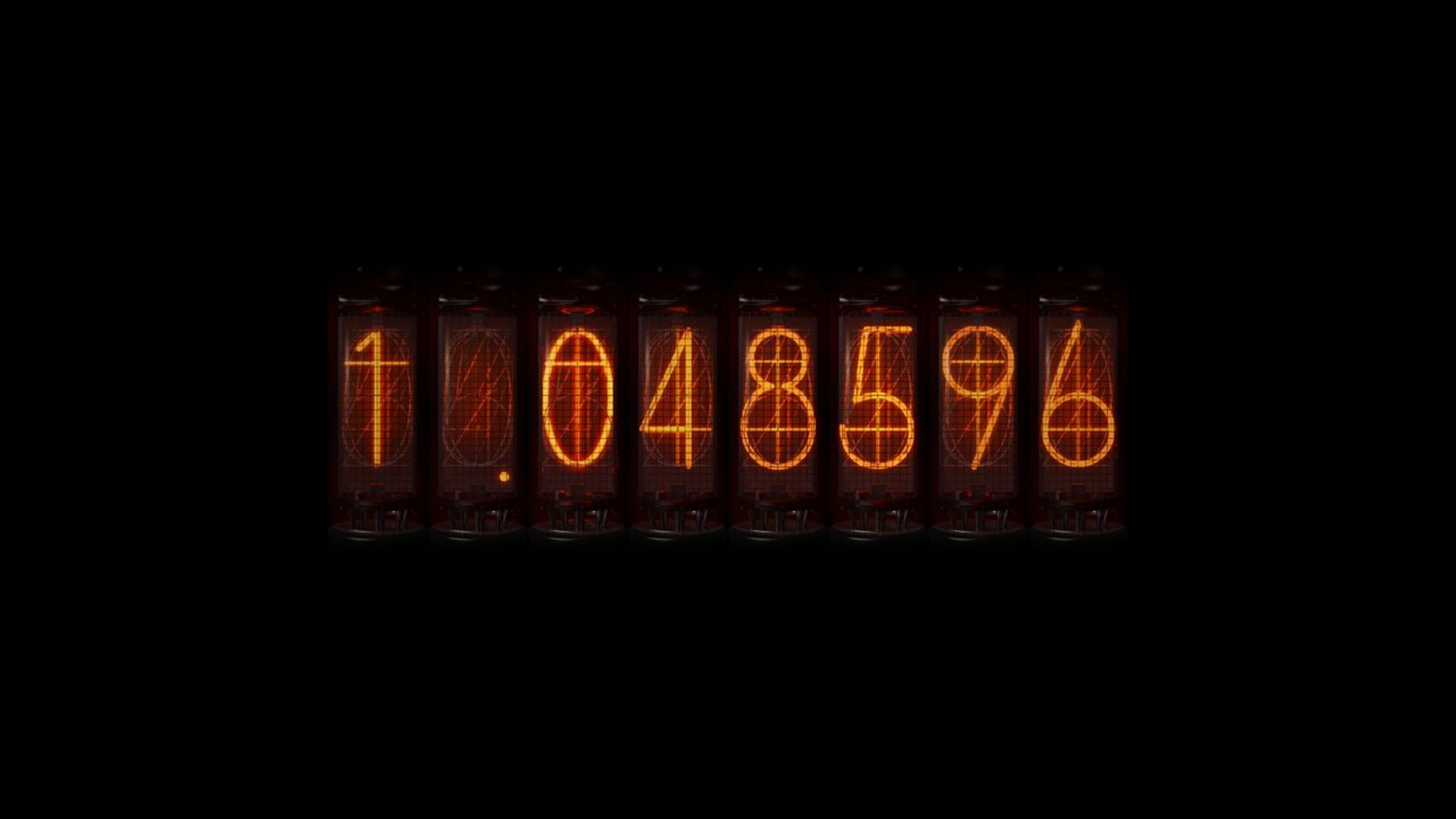 time travel anime nixie tubes steins;gate divergence meter numbers