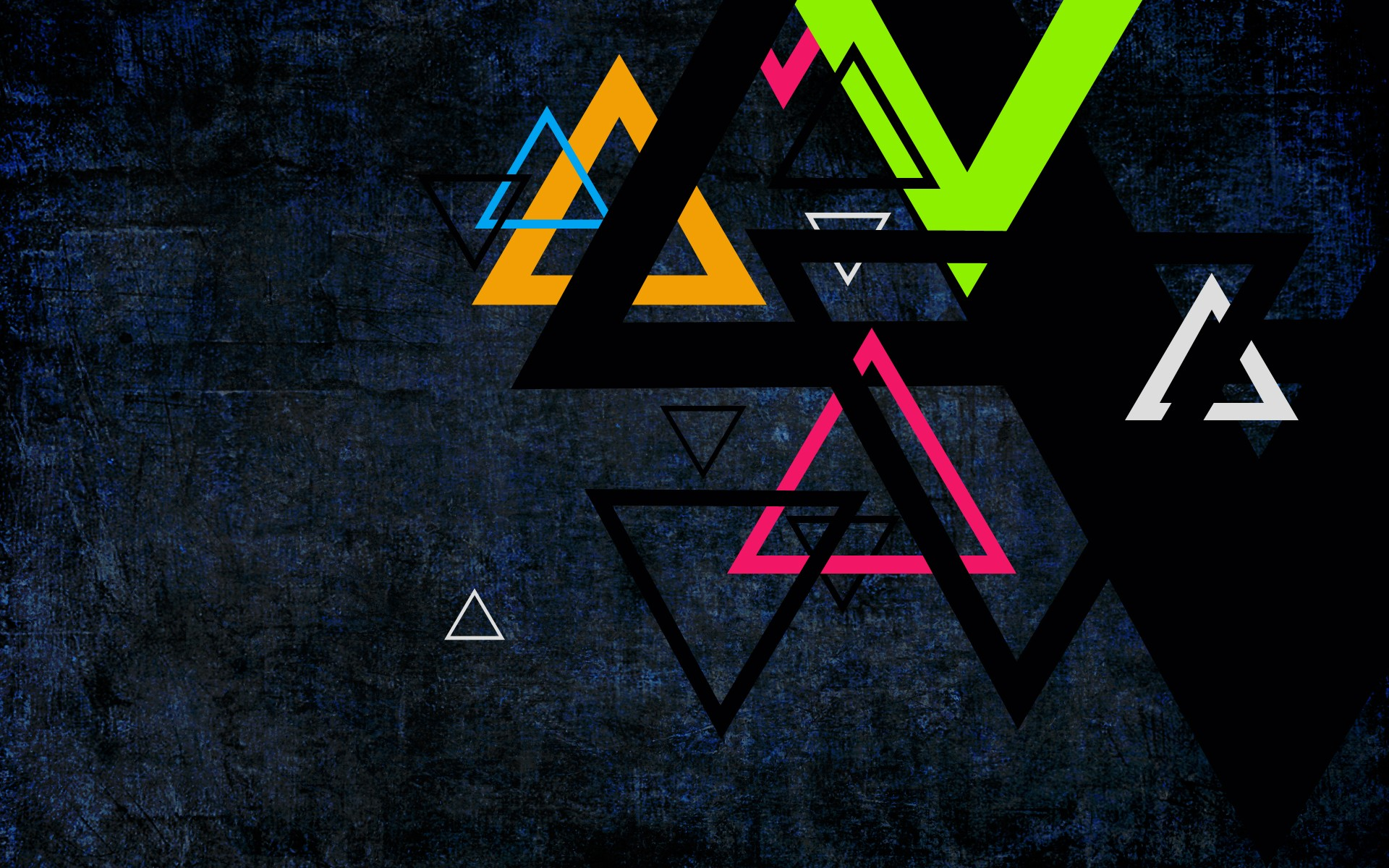 triangle simple background abstract
