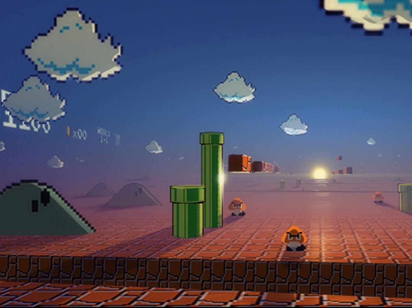 video games nintendo super mario digital art retro games