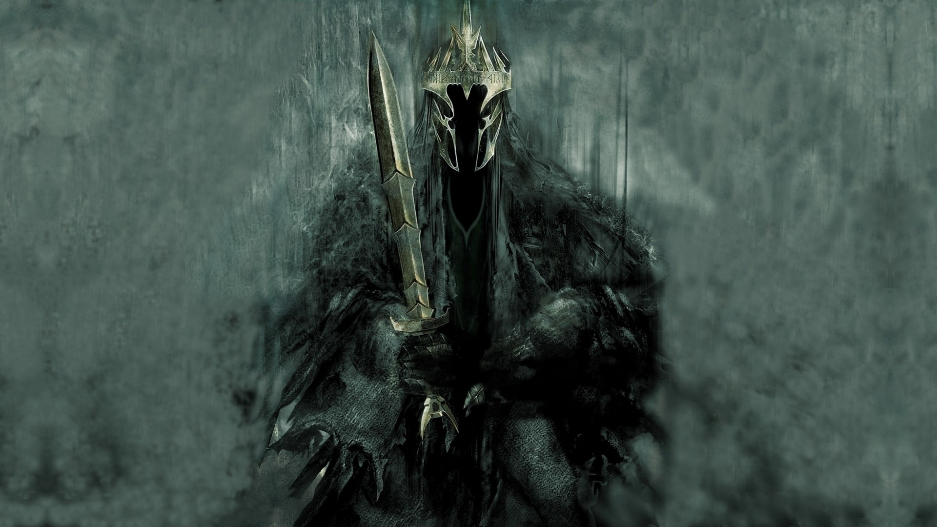 witchking of angmar the lord of the rings fantasy art