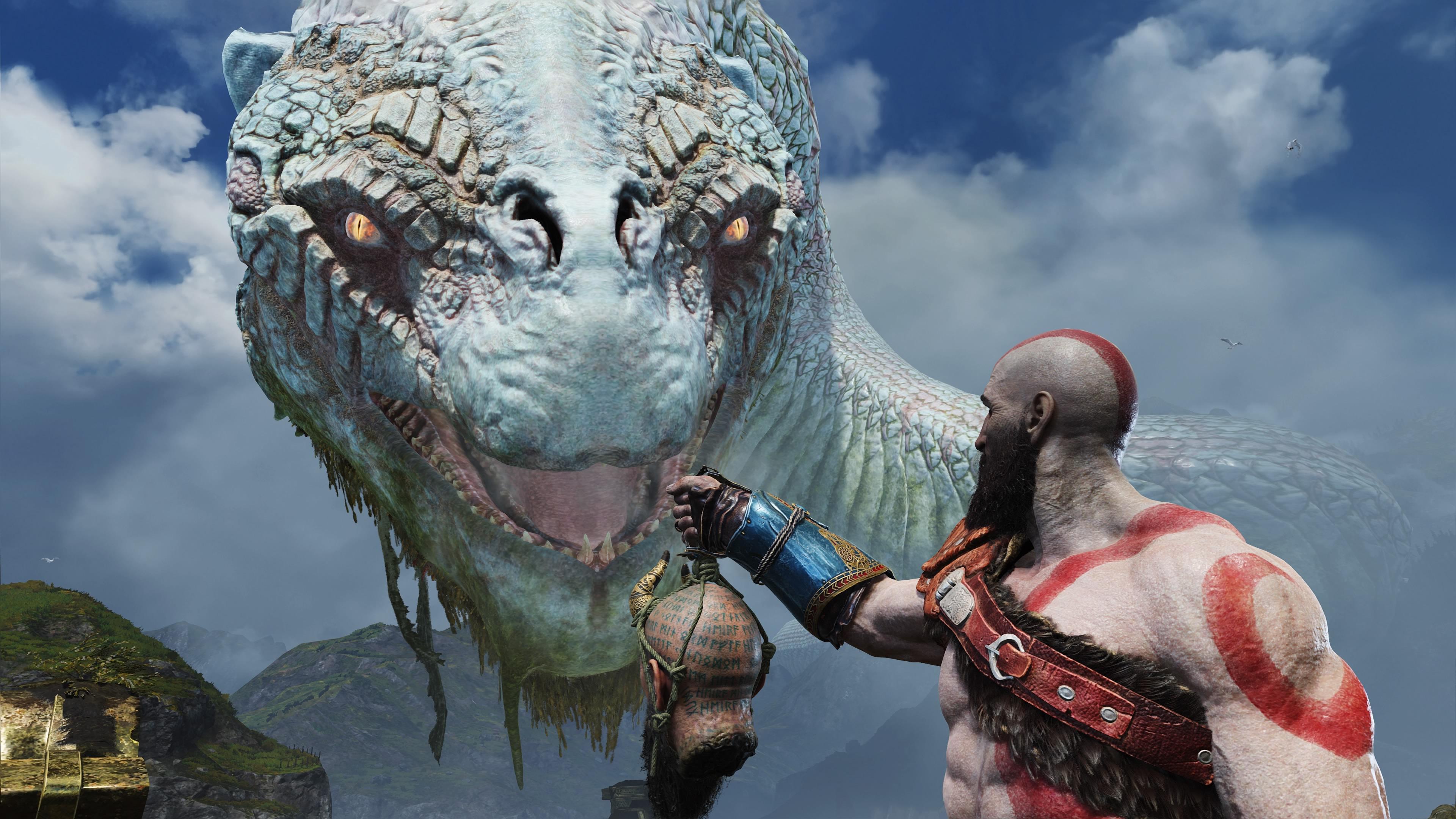 2018 (year) god of war (2018) creature warrior video games god of war