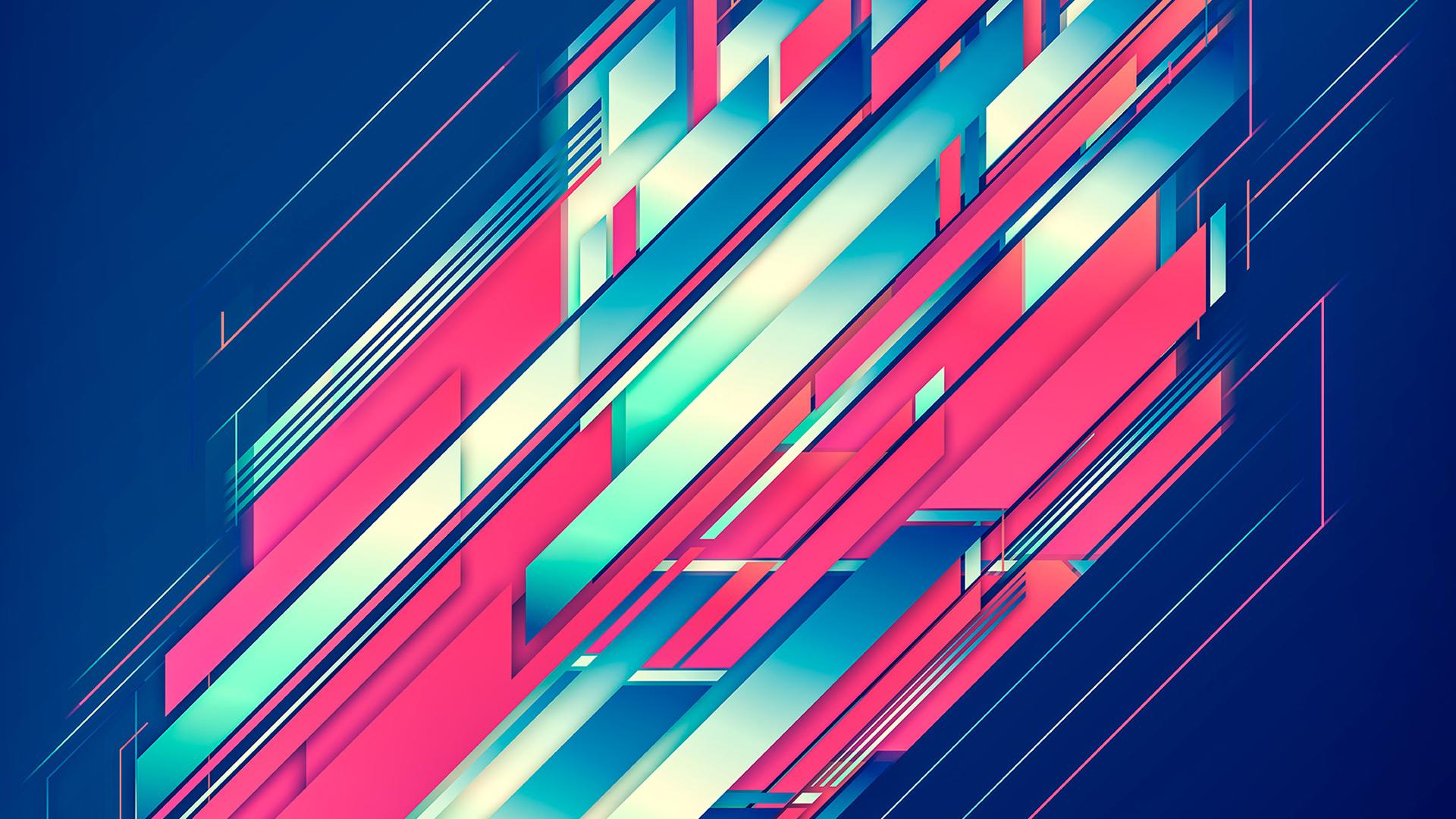 abstract lines diagonal lines digital art
