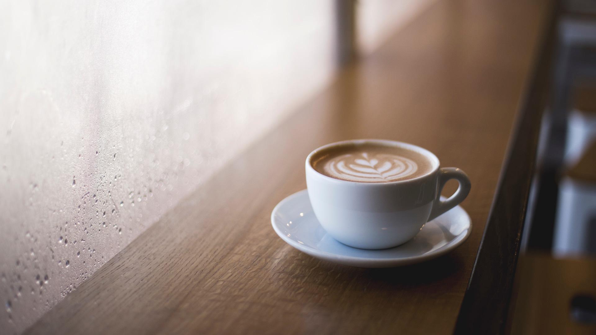 cappuccino cafes coffee rain