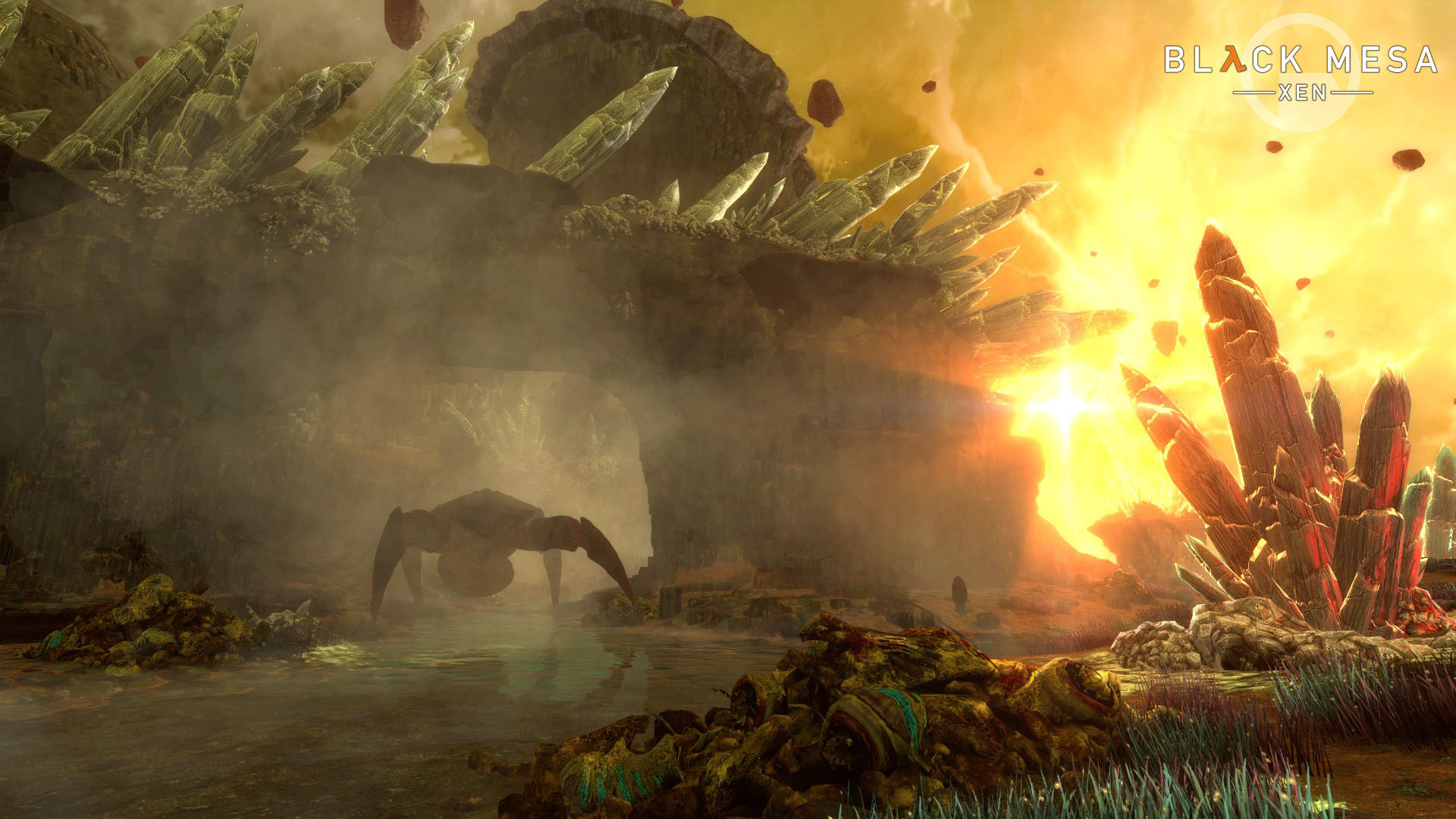 half-life video games video game art pc gaming black mesa