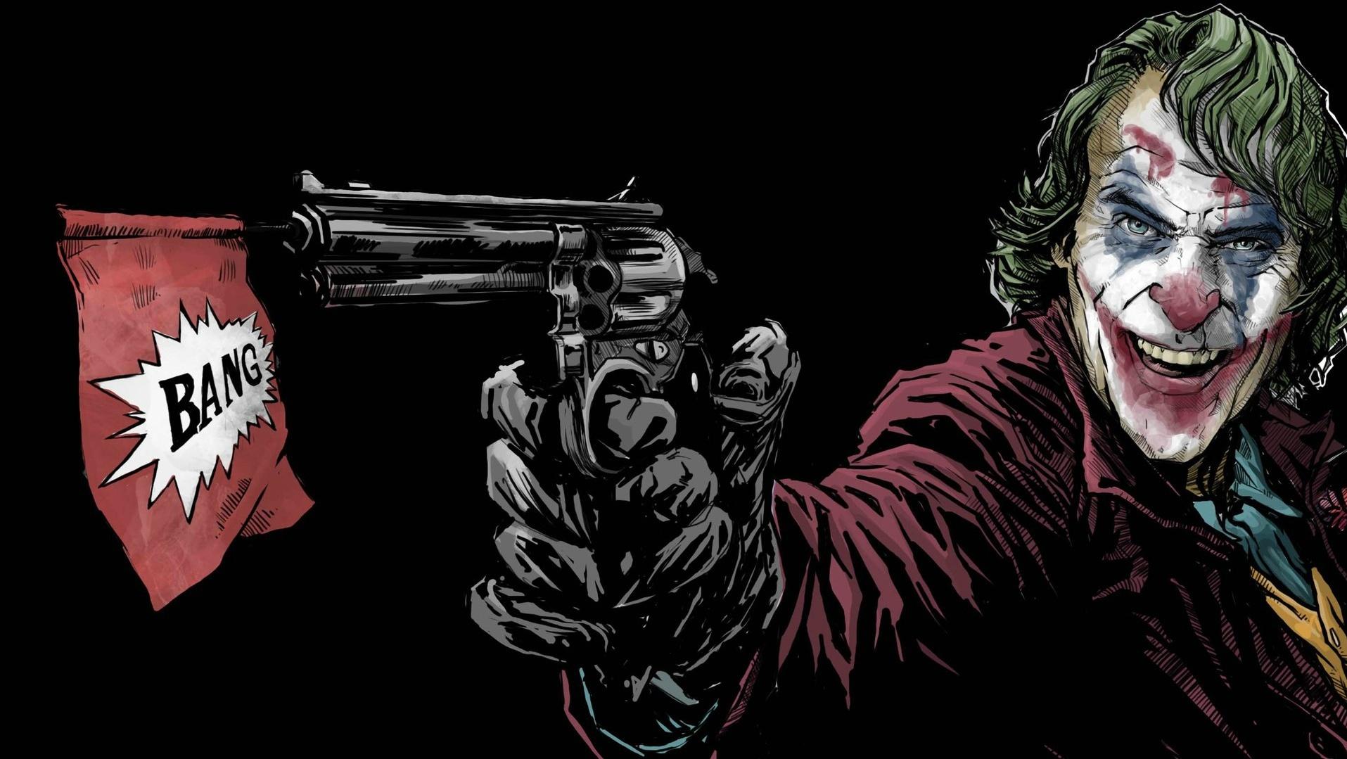 Joaquin Phoenix Artwork Joker Walldevil