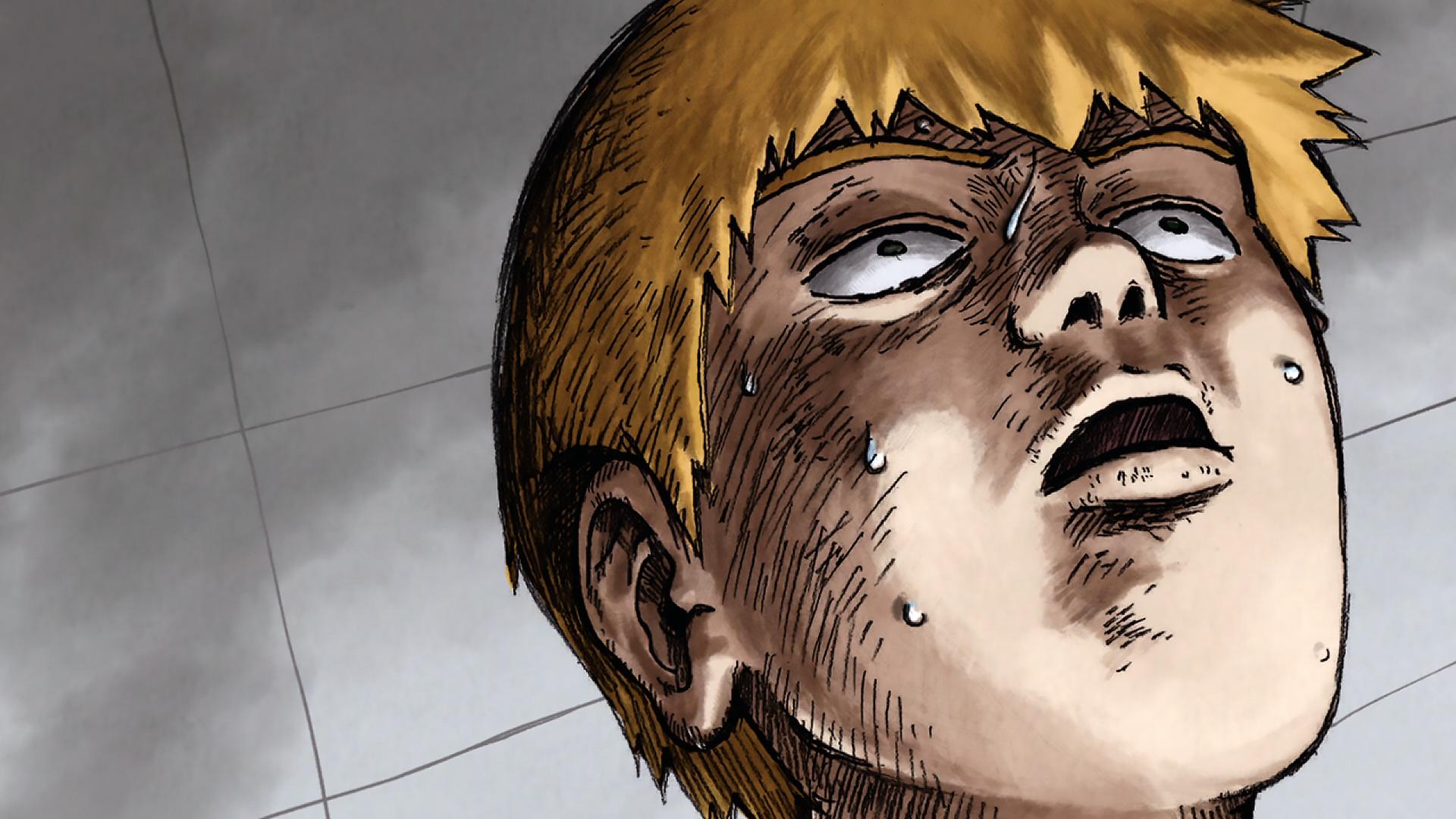 male blonde manga mob psycho 100 anime