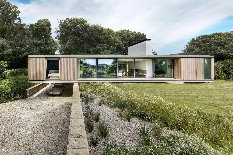 modern mansions luxury homes garage architecture car house