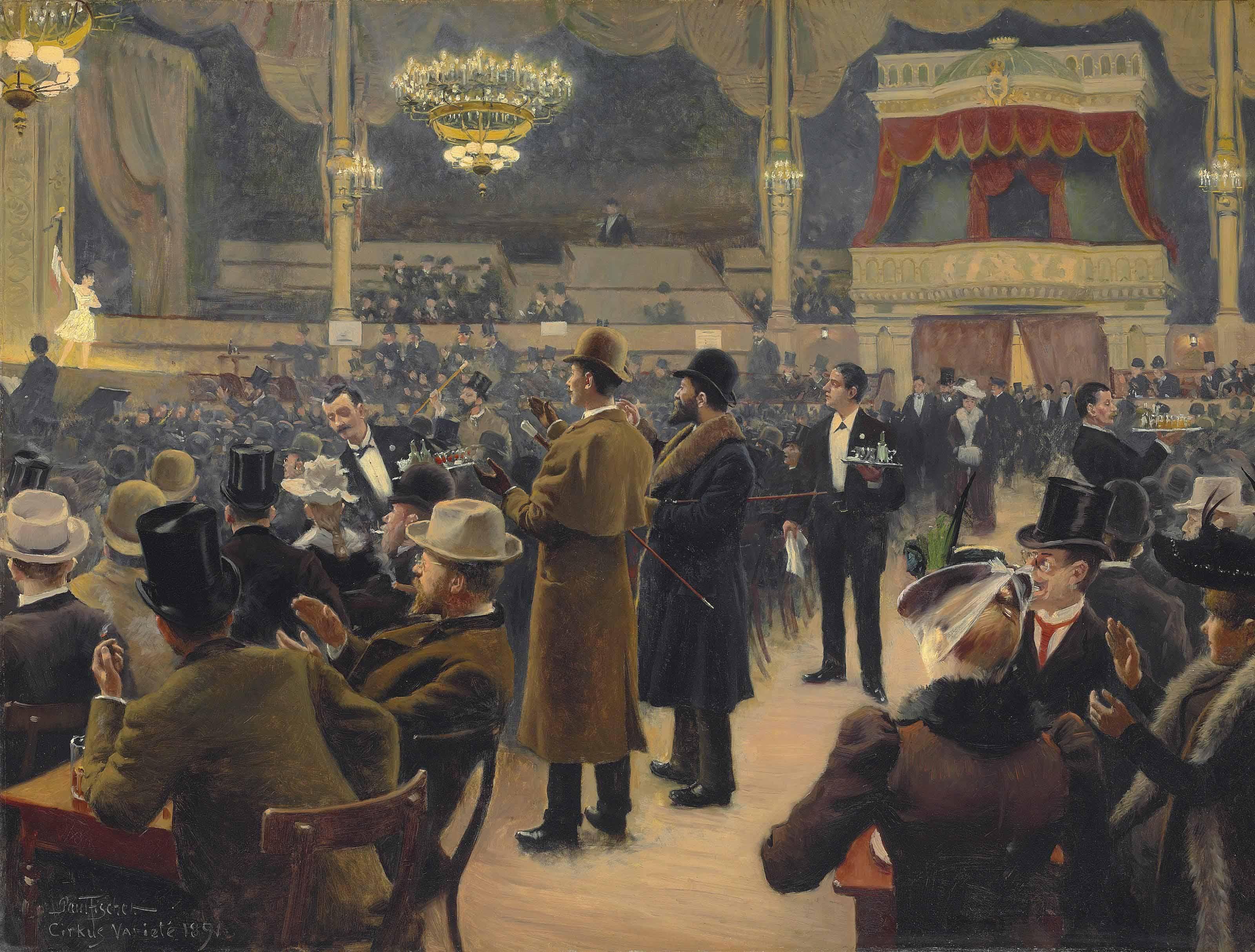 painting paul gustav fischer artwork classical art