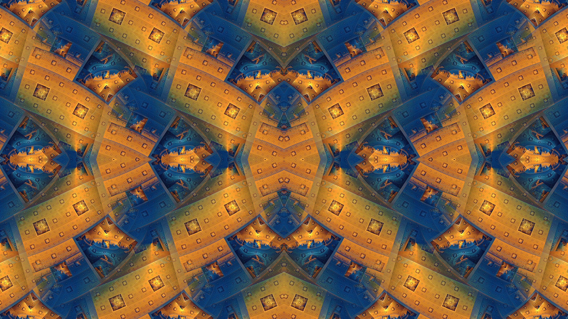 pattern fractal abstract symmetry