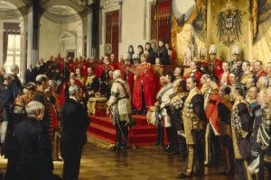 1888 (year) classical art the opening of the reichstag painting europe 1888 anton von werner