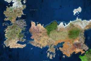 a song of ice and fire map game of thrones