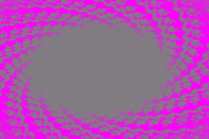 abstract fractal shapes pink