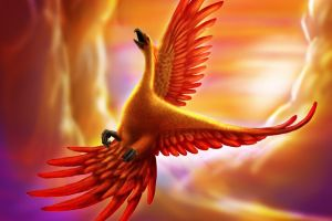 abstract phoenix birds animals abstract artwork phoenix