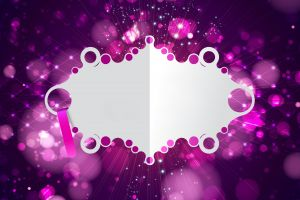 abstract vector purple digital art