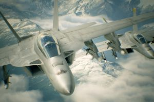 ace combat aircraft video games video game art military aircraft