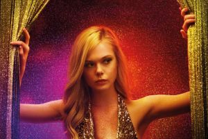 actress the neon demon elle fanning blonde women