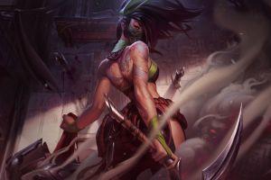 akali(league of legends) scythe league of legends
