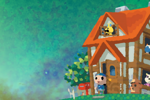 animal crossing house games art male