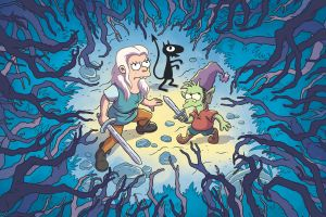 animated series cartoon netflix disenchantment series elfo bean