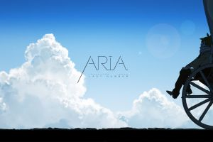 anime clouds aria sky anime girls