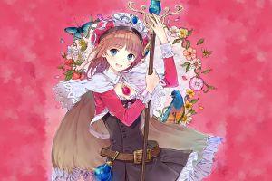 anime girls atelier colorful anime
