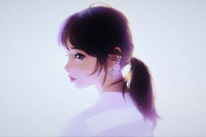 anime girls digital art ilya kuvshinov