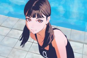 anime girls original characters anime ilya kuvshinov digital art artwork concept art