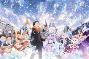 anime girls re:zero kara hajimeru isekai seikatsu anime girls anime