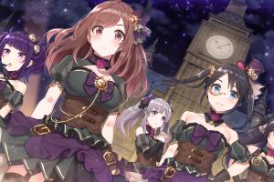 anime girls the idolmaster: shiny colors anime