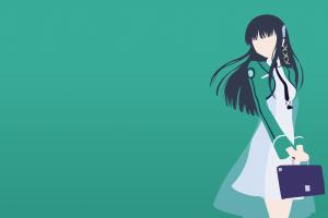 anime mahouka koukou no rettousei shiba miyuki