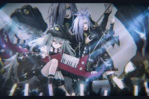 anime musical instrument anime girls