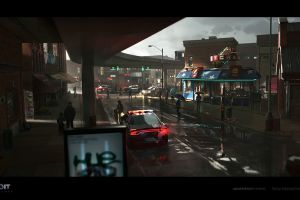 antoine boutin detroit become human digital people artwork city futuristic video games