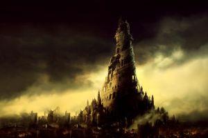 apocalyptic tower dark