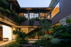 architecture house modern nature