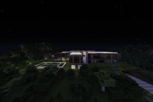 architecture modern house mansions minecraft