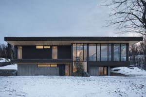 architecture modern snow house
