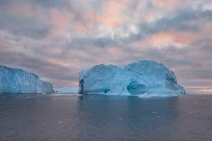 arctic sea nature iceberg