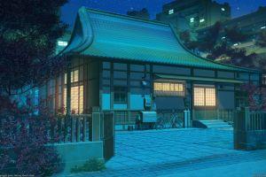 arsenixc city anime urban artwork 2017 (year) digital art
