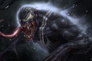 artwork marvel comics eddie brock venom