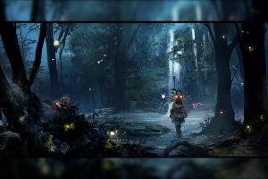 artwork the legend of zelda: majora's mask the legend of zelda video game art video games artwork games art