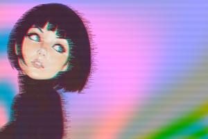 artwork vaporwave ilya kuvshinov women