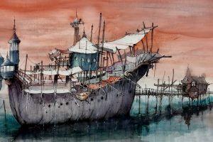 artwork vehicle ship