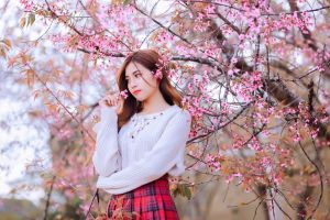 asian blossoms women