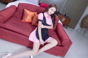 asian model maid outfit women people photography