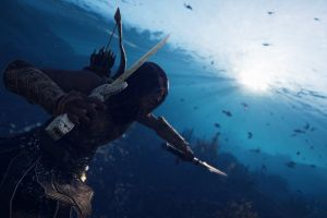 assassins creed: odyssey assassin's creed video games screen shot underwater