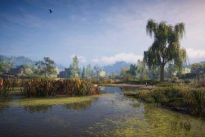 assassins creed: odyssey landscape video games screen shot