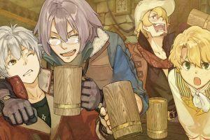 atelier anime food anime boys atelier escha & logy: alchemists of the dusk sky